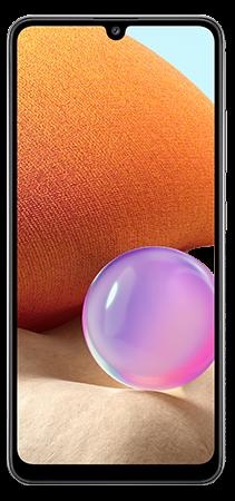 Samsung Galaxy A32 128 GB Negro Frontal