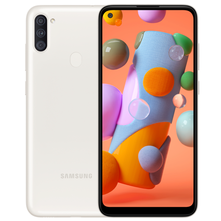 Samsung Galaxy A11 64 GB Blanco Doble