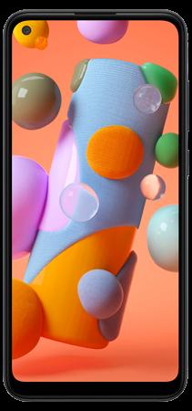 Samsung Galaxy A11 64 GB Negro Frontal