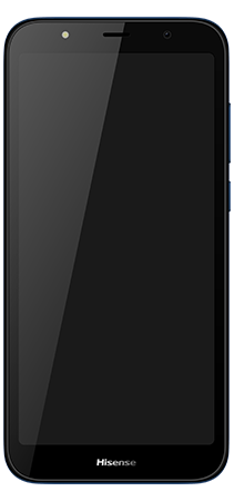 Hisense E20 16 GB Azul Frontal