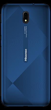 Hisense E20 16 GB Azul Trasera