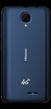 Hisense U3 2021 16 GB Azul Trasera