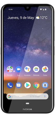 Nokia 2.2 32 GB Negro Frontal