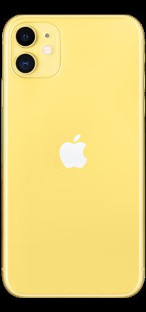 Apple iPhone 11 64GB Amarillo trasera