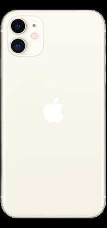 Apple iPhone 11 64GB Blanco trasera