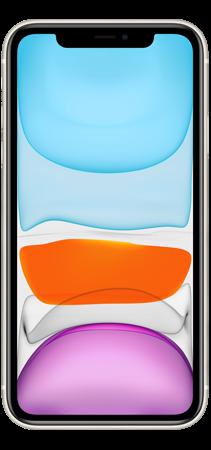 Apple iPhone 11 64GB Blanco frontal