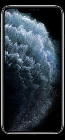 Apple iPhone 11 Pro Max 64GB Plata frontal