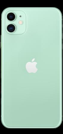 Apple iPhone 11 64GB Verde trasera