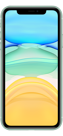 Apple iPhone 11 64GB Verde frontal