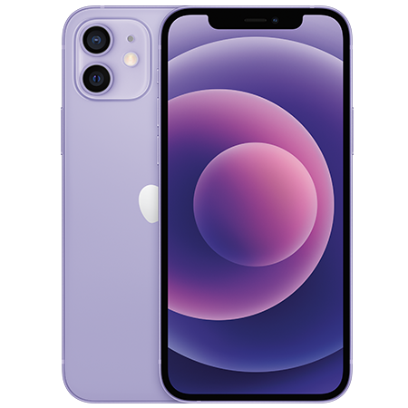 Apple iPhone 12 64 GB Morado Doble