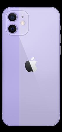 Apple iPhone 12 64 GB Morado Trasera