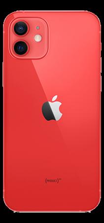 Apple iPhone 12 Mini 64 GB Rojo Trasera
