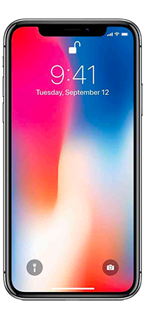 Apple iPhone X 64GB Gris Frontal