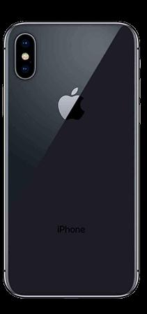 Apple iPhone X 64GB Gris Trasera