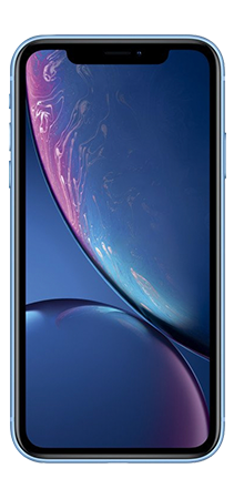 Iphone XR 64 GB azul Frontal