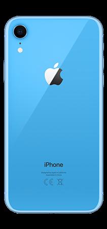 Iphone XR 64 GB azul Back