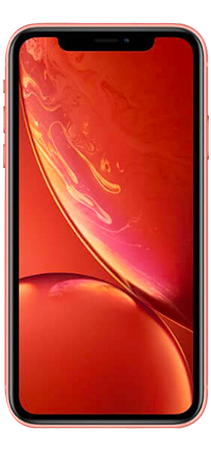Apple iPhone XR 64 GB Coral Frontal