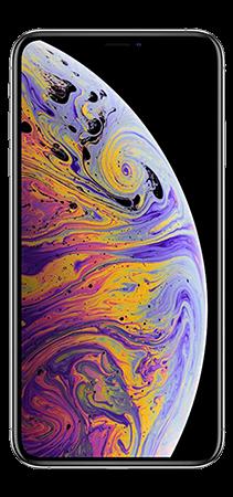 Apple iPhone XS 64 GB Plata Frontal