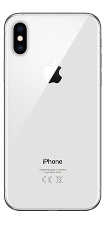 Apple iPhone XS 64 GB Plata Trasera
