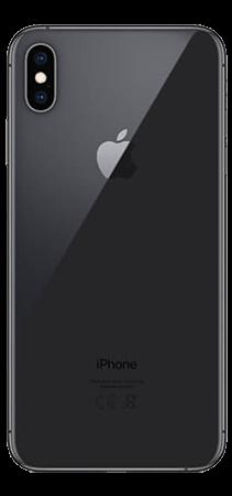 Apple iPhone XS MAX 64 GB Gris Espacial Trasera