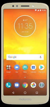 Motorola E5 16 GB Dorado Frontal