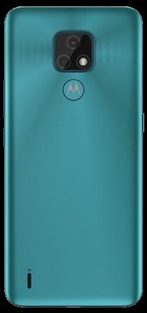 Motorola E7 Plus 64 GB Azul Trasera