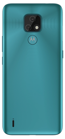 Motorola E7 32 GB Azul Trasera
