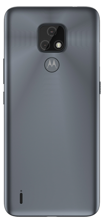 Motorola E7 32 GB Gris Mineral Trasera