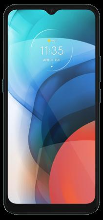 Motorola E7 32 GB Azul Frontal
