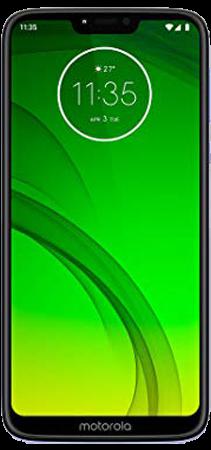 Motorola Moto G7 Power 64 GB Violeta Frontal