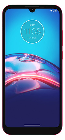 Moto E6i 32 GB Rosa Frontal