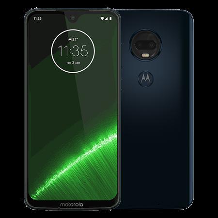 Motorola Moto G7 Plus 64 GB Azul Indigo - Doble
