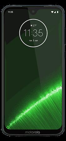 Motorola Moto G7 Plus 64 GB Azul Indigo - Frontal