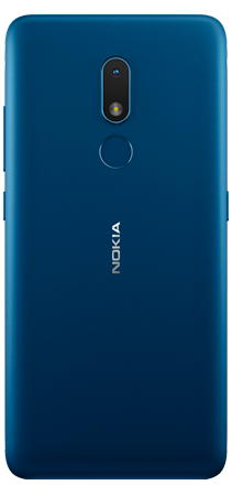 Nokia C3 32 GB Azul Trasera