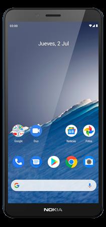 Nokia C3 32 GB Azul Frontal