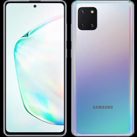 Samsung Note 10 Lite Plata doble