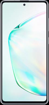 Samsung Note 10 Lite Plata frontal