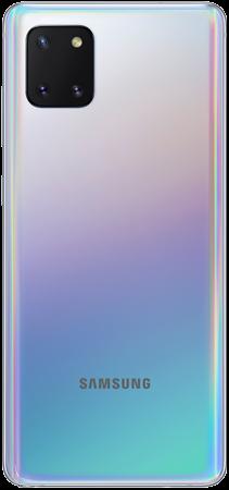 Samsung Note 10 Lite Plata trasera