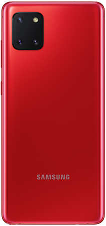 Samsung Note 10 Lite Rojo trasera