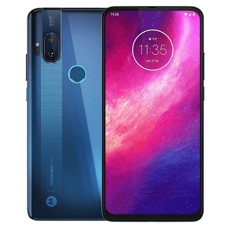 Motorola One Hyper 128 GB Ice Blue Doble
