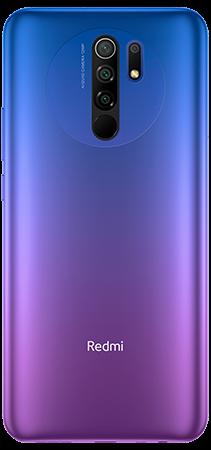 Xiaomi Redmi 9 64 GB Morado Trasera