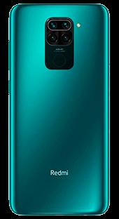 Xiaomi Note 9 128 GB Verde Trasera