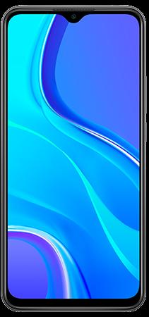 Xiaomi Redmi 9 64 GB Gris Frontal