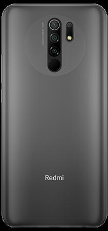 Xiaomi Redmi 9 64 GB Gris Trasera