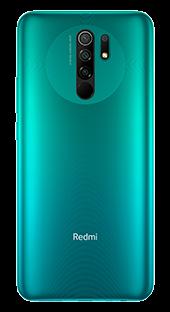 Xiaomi Redmi 9 64 GB Verde Trasera