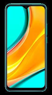 Xiaomi Redmi 9 64 GB Verde Frontal