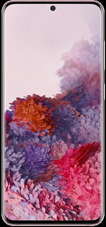 Samsung Galaxy S20 128GB Rosa frontal