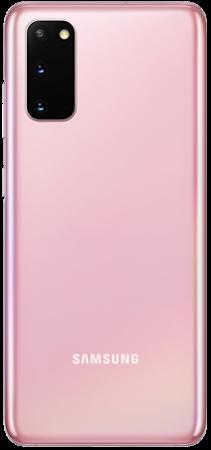 Samsung Galaxy S20 128GB Rosa trasera