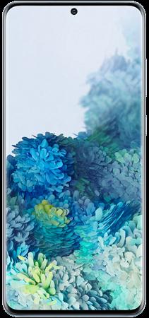 Samsung Galaxy S20 128GB Plus Azul frontal