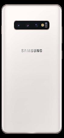 Samsung Galaxy S10+ 128 GB Blanco Trasera